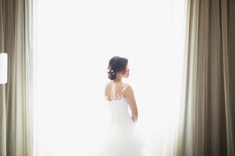 Bridal Portrait High-Key