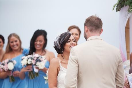 Santa Barbara East Beach Wedding Ceremony
