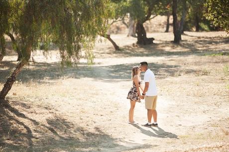 Mission Park Santa Barbara Engagement Pictures