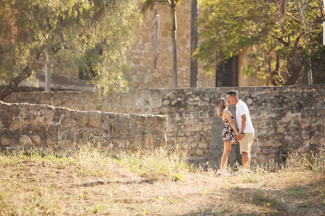 Mission Park Santa Barbara Engagement Photography