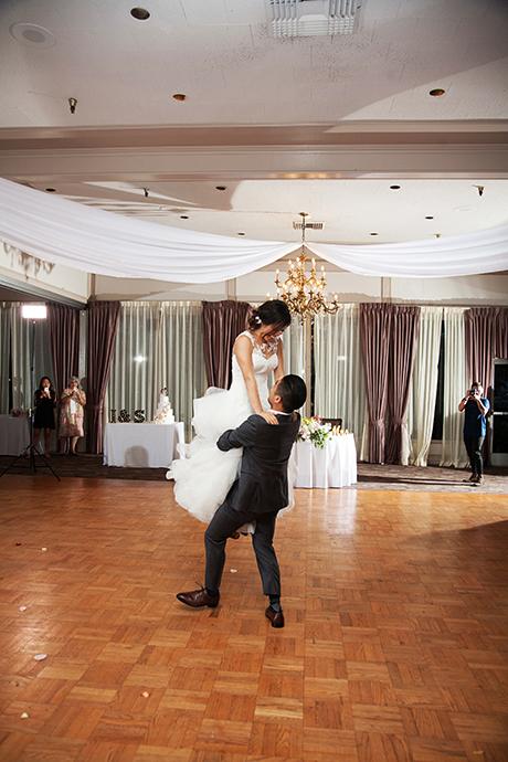 Odyssey Restaurant Wedding