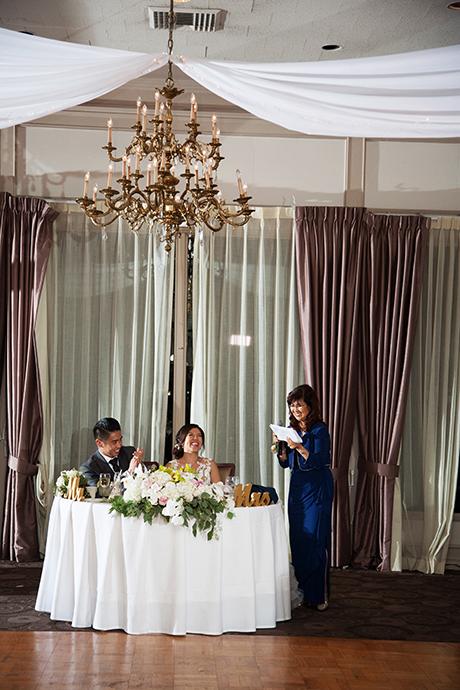 The Odyssey Restaurant Granada Hills Wedding Reception