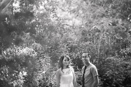 UCLA Botanical Garden Engagement Session