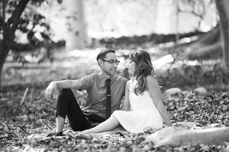 UCLA Botanical Garden Engagement Pictures
