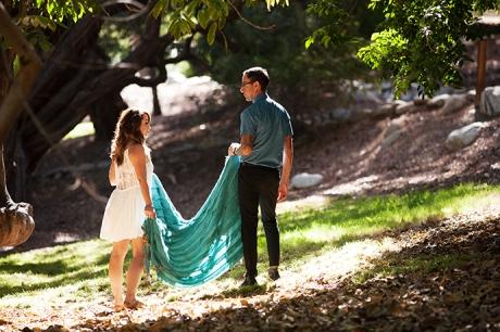 UCLA Botanical Garden Engagement Pictures