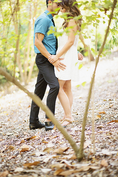 Mildred E. Mathias Botanical Garden Engagement Pictures