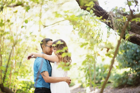 UCLA Botanical Garden Engagement Photography