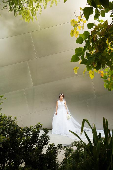 Walt Disney Concert Hall Wedding Pictures