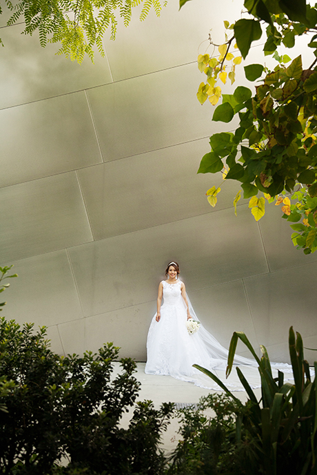 Walt Disney Concert Hall Wedding Pictures