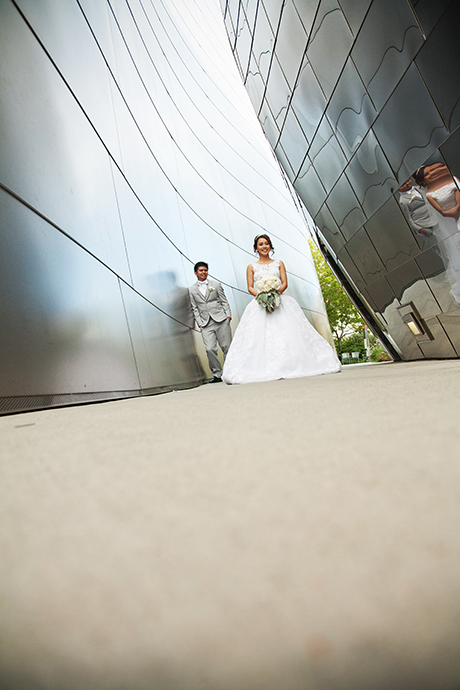 Walt Disney Concert Hall Wedding Photography