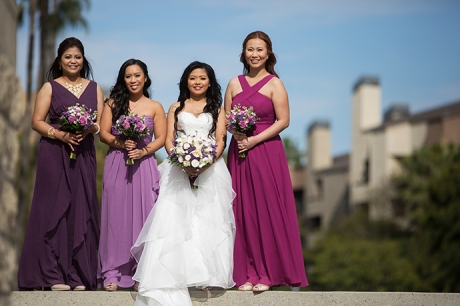 Avenue of the Arts Wedding Pictures