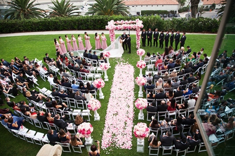 Bel-Air Bay Club Wedding Ceremony