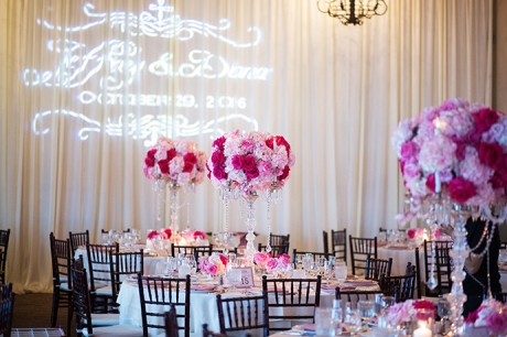 Bel-Air Bay Club Wedding Reception