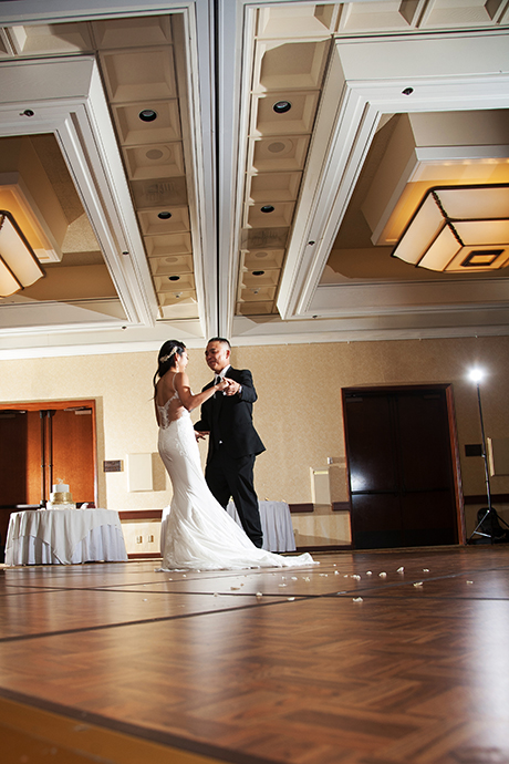 Fess Parker Doubletree Wedding Reception
