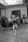Flower Girl Dances for Bride and Groom