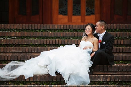 Gamble House Wedding Pictures