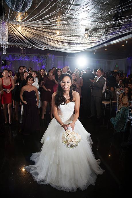 Bouqet Toss Wedding