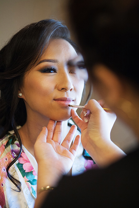 Bridal Makeup Seal Beach