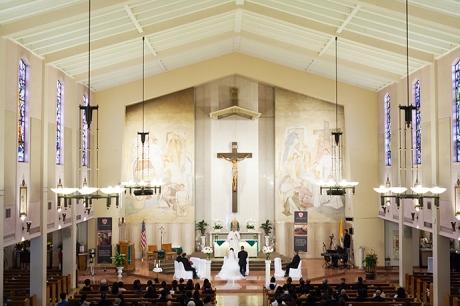 Saint Anthony Church San Gabriel Wedding