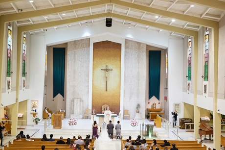 St. Joachim Catholic Church Wedding Ceremony