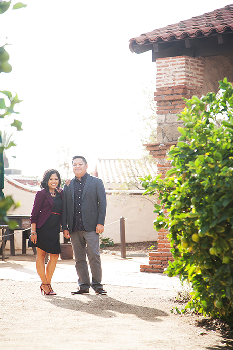 San Juan Capistrano Mission Engagement Pictures