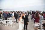 Santa Barabra East Beach Wedding Ceremony