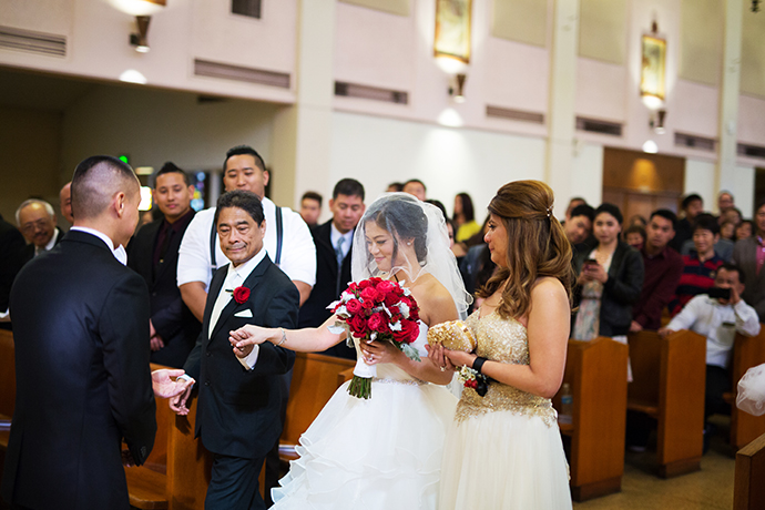St. Anthony Church Wedding Ceremony