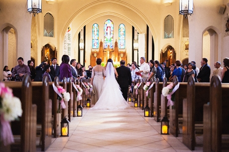St. Dominc Church Wedding in Eagle Rock