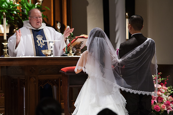 Saint Dominic Church Wedding Eagle Rock