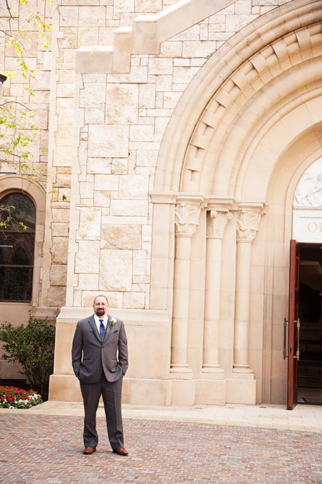 USC Caruso Catholic Center Wedding