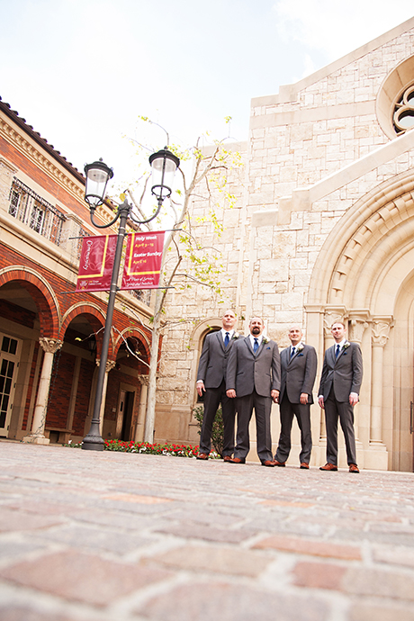 USC Catholic Center Wedding