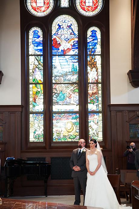 USC Catholic Center Wedding Pictures