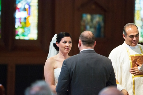 USC Caruso Catholic Center Wedding Ceremony