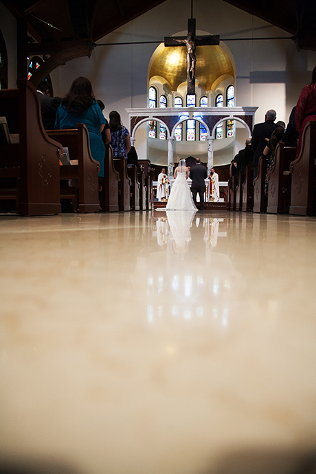 USC Caruso Catholic Center Wedding Pictures