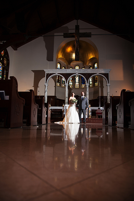 USC Caruso Catholic Center Wedding