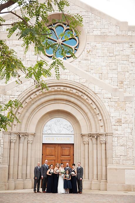 USC Catholic Center Wedding