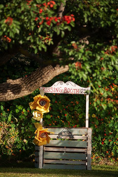 Kissing Booth at Wedding