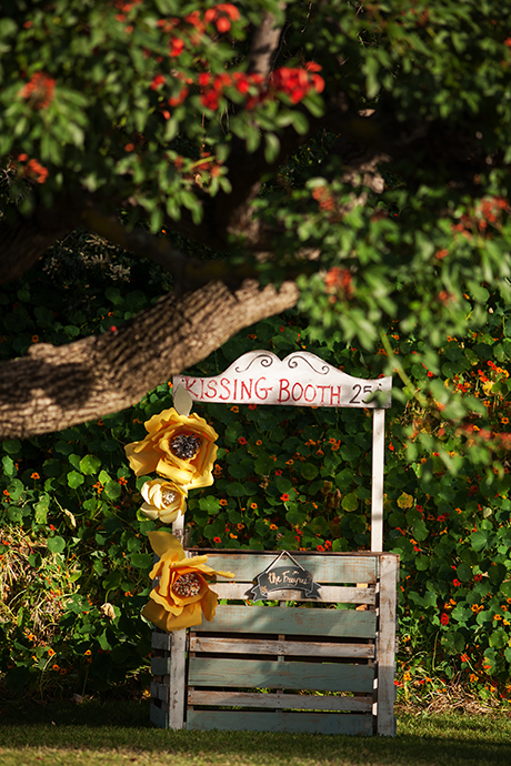 Kissing Booth at Wedding
