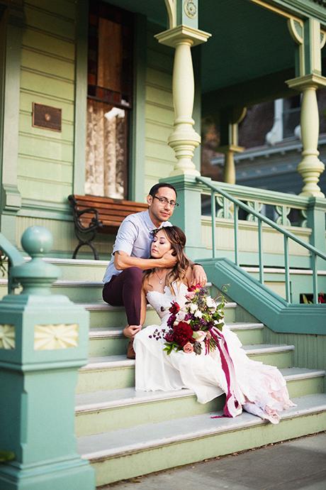 Victorian House Wedding