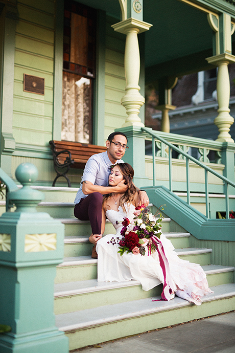 Victorian House Wedding