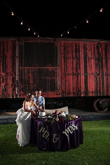 Heritage Square Museum Wedding Reception