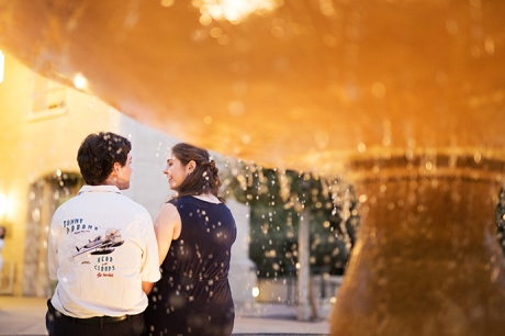 Claremont Colleges Engagement Photography
