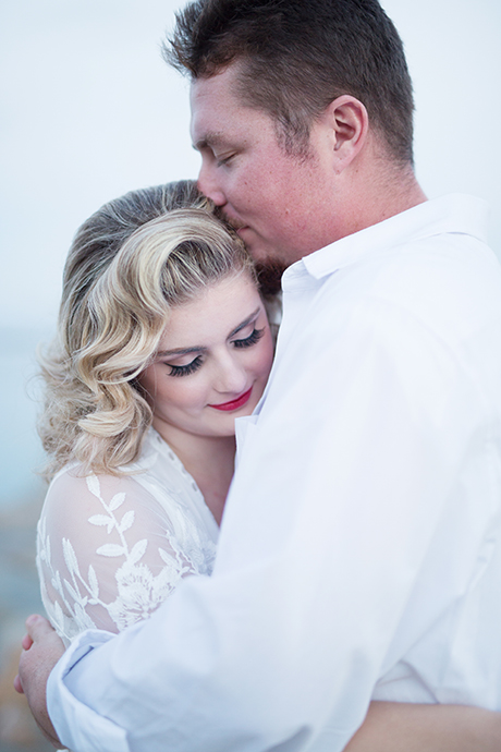 Ethereal Lighting Engagement Pictures