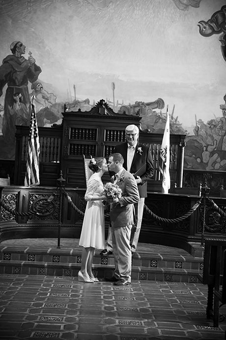 Santa Barbara Courthouse Wedding Ceremony