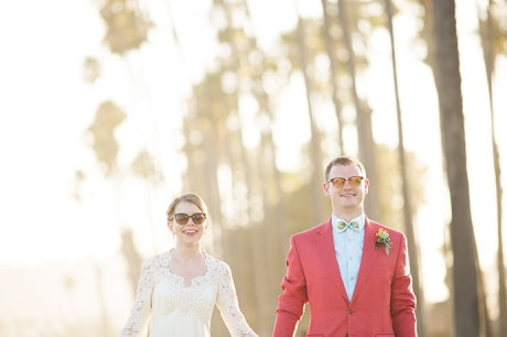 Santa Barbara East Beach Wedding