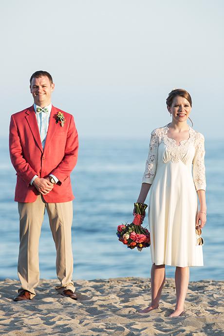 Santa Barbara East Beach Wedding Pictures