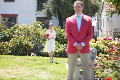 Santa Barbara Mission Wedding Pictures