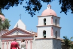 Old Mission Santa Barbara Wedding