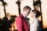 Santa Barbara Sunset Wedding Pictures