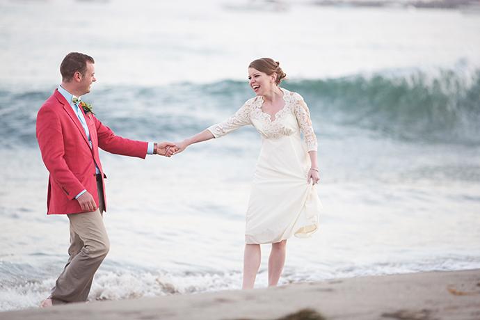 East Beach Santa Barbara Wedding Pictures